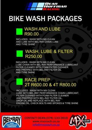 Dean Hoffman Racing - Bike Wash