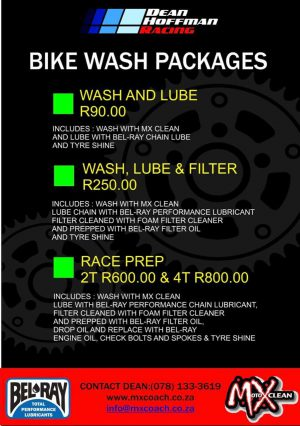 Dean Hoffman Racing - Bike Wash