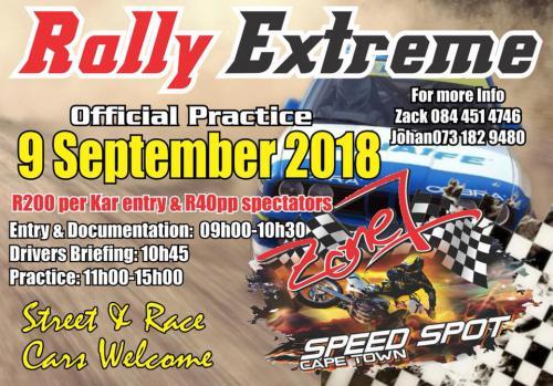 Rally Extreme (9-Sep-2018)